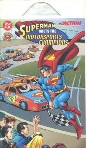 Superman Meets The Motorsports Champions 1999-NASCAR-Jeff Gordon-promo edition-N