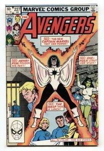 Avengers #227 Captain Marvel Monica Rambeau joins the Avengers NM-