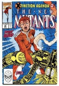 THE NEW MUTANTS #95 1990-ROB LIEFELD- X-TINCTION AGENDA
