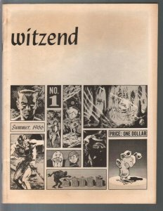 Witzend #1 1966-1st issue & printing-Al Williamson-Wally Wood-Frazetta-VG+