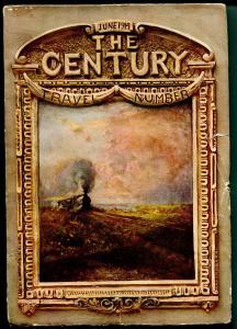Century Magazine 6/1914-historic-pulp format-unique art & features-travel-VG