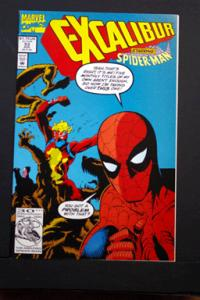 Excaliber #53 Starring Spider-Man Aug 1992