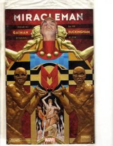 Miracleman # 1 VF/NM 1st Print SEALED In Poly Bag Marvel Comic Book  J306
