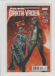 Star Wars: Darth Vader #3 NM (2015, Marvel) 2nd Print! 1st Doctor Aphra! KEY!!