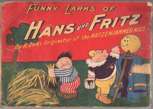 Funny Larks of Hans und Fritz 1929-Katzenjammer Kids-R. Dirks art-P/FR