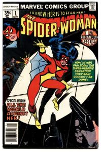 SPIDER-WOMAN #1-HIGH GRADE VF-FIRST ISSUE-MARVEL KEY.