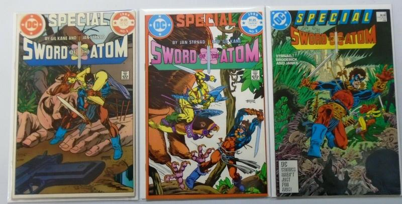 Sword of the Atom Special Set:#1-3, 8.0/VF (1984-1988)