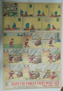 Skippy Sunday Page by Percy Crosby from 6/25/1938 Size: 15 x 22 inches Full Page