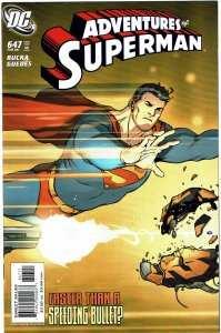 Adventures of Superman #647 NM+