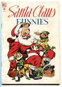 SANTA CLAUS FUNNIES #205 1948-DELL-FOUR COLOR-WALT KELLY-vg