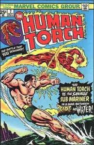 Marvel THE HUMAN TORCH (1974 Series) #7 VG+
