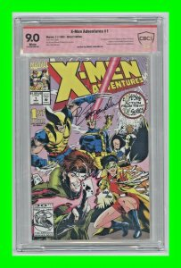 X-Men Adventures #1 1992 Marvel 1st Morph Signed by Roberto Campanella CBCS 9.0
