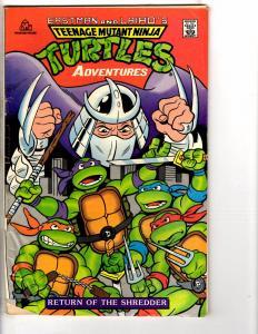 Teenage Mutant Ninja Turtles Adventures Return Of The Shredder VG Random Ho J225