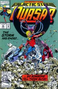 Quasar #35, VF+ (Stock photo)