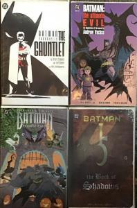 BATMAN DC TRADE PAPERBACKS;HAUNTED KNIGHT,ULTIMATE EVIL,BOOK OF SHADOWS,GAUNTLET