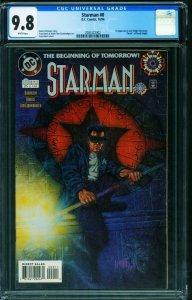 STARMAN #0 CGC 9.8-1st Jack Knight 2085322002
