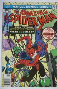 AMAZING SPIDER-MAN  #161 (Marvel,10/1976) (VG) Nightcrawler! Wein & Andru