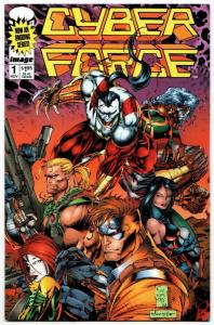 Cyber Force #1 (Image, 1993) VF/NM