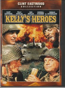 Kelly's Heroes DVD  Forget WW II ! Let's Rob a Bank !