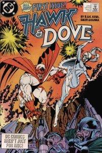 Hawk and Dove (1989 series) #1, VF- (Stock photo)