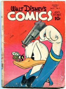 Walt Disney's Comics And Stories #69-1946-DONALD DUCK-MICKEY MOUSE-BARKS-GO FR