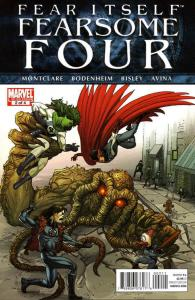 Fear Itself: Fearsome Four #2 VF; Marvel | save on shipping - details inside