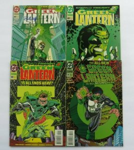 Green Lantern #48 49 50 51 VF/NM DC Emerald Twilight 1st Kyle Rayner #48 Signed
