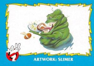 1989 Topps Ghostbusters #85 Artwork: Slimer
