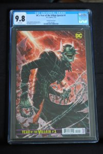 DC'S Year of the Villian Special #1, Cheung Variant Cover  9.8 CGC