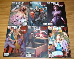True Blood: Tainted Love #1-6 VF/NM complete series based HBO show - B variants