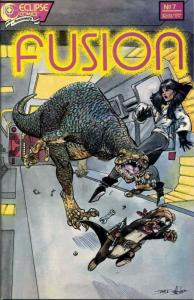 Fusion #7 VF/NM; Eclipse | save on shipping - details inside