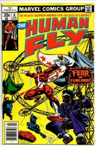 HUMAN FLY #6, VF/NM, Fear in FunLand, 1977 1978, Bronze age more Marvel in store
