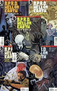 BPRD HELL ON EARTH NEW WORLD (2010 DH) 1-5 Mike Mignola