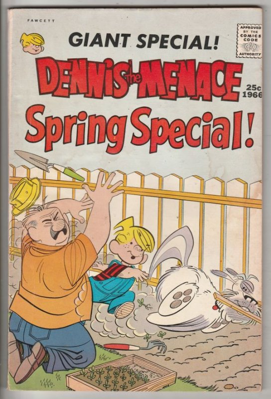 Dennis the Menace, Giant Special Spring Special #1 (Apr-66) VG/FN+ Mid-Grade ...