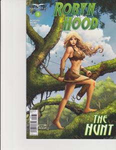 Robyn Hood The Hunt #3 Cover C Zenescope Comic GFT NM Salonga