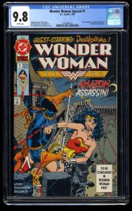 Wonder Woman Special #1 CGC NM/M 9.8 White Pages Deathstroke!