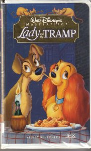 Walt Disney's Lady and the Tramp VHS