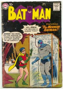 Batman #118 1958- DC Silver Age- Merman Batman G+