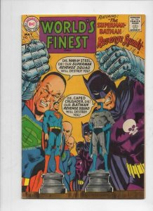 WORLD'S FINEST #175, FN+, Batman, Superman, Robin, 1941 1968, more in store