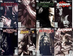 BATMAN FACE THE FACE (2006) Pts 1-8  vs SCARFACE xover