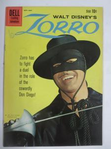 ZORRO #11 (Dell,9/1960) (FINE;F) Photo Cover! Walt Disney!