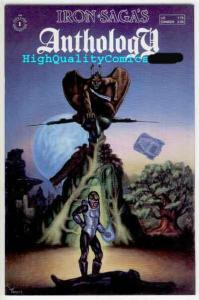 IRON SAGA'S ANTHOLOGY #1, NM, Sci-fi, 1987, Matrix, Bounty Hunter
