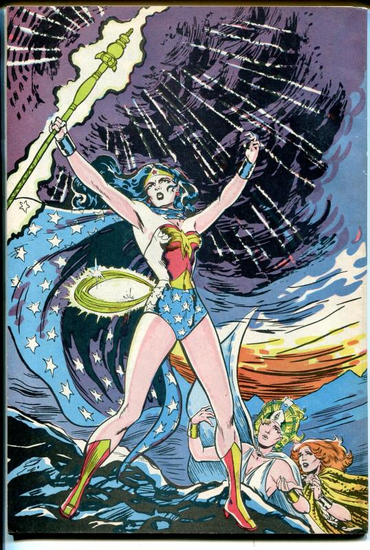 Comic Reader #218 1984-Wonder Woman-loaded with comic book