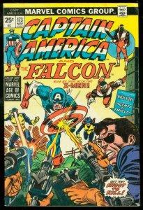 CAPTAIN AMERICA #173 1974-FALCON-NICK FURY VG