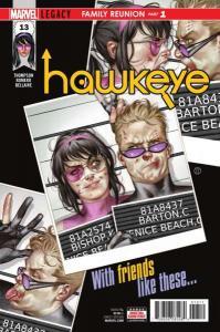 Hawkeye (2017 series) #13, NM + (Stock photo)