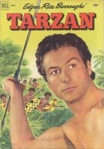 Tarzan (1948 series) #32, Good- (Stock photo)