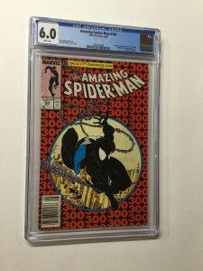 Amazing Spider-man 300 Cgc 6.0 White Pages 1st Venom Marvel Newsstand Edition