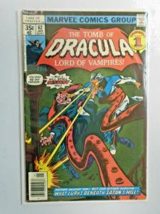 Tomb of Dracula #62 1st Series water damage 4.5 (1978)
