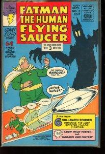 Fatman the Human Flying Saucer #3 (1967)