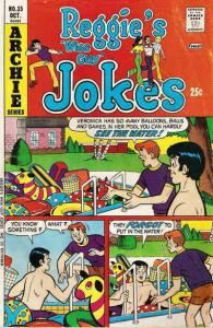 Reggie's Wise Guy Jokes #35 FN; Archie | save on shipping - details inside